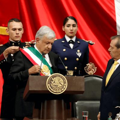 AMLO protesta como nuevo presidente de México; inicia la Cuarta Transformación