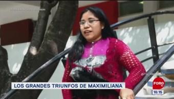 #LoQueVimosEnLaRed: Los grandes triunfos de Maximiliana
