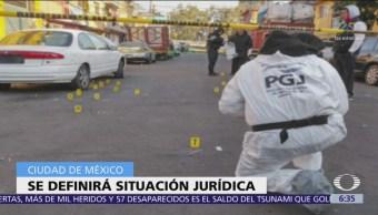 Definirán situación jurídica de atacantes de Coyoacán
