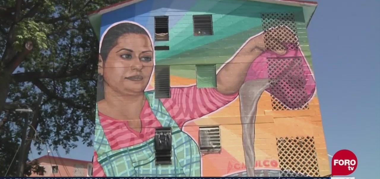Los murales antiviolencia