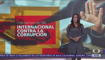 Los niveles de corrupción en México son altos