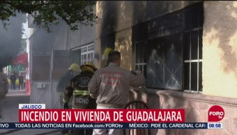 Madre Rescata Hijos Incendio Zapopan Jalisco