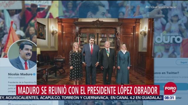 Maduro no acudió a la Cámara de Diputados a toma de protesta de AMLO