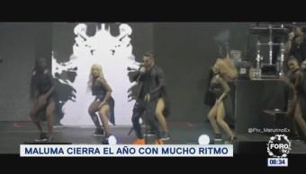 Maluma cierra el año con mucho ritmo