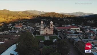 México Sobre Ruedas: La ciudad de Áporo