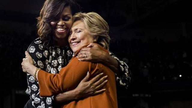 Michelle Obama desbanca a Hillary Clinton