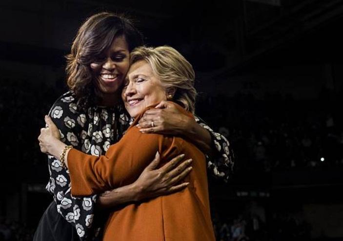 Michelle Obama desbanca a Hillary Clinton