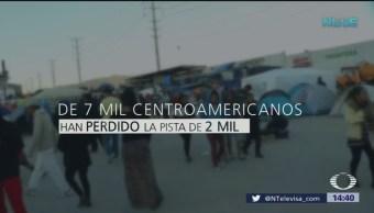 Migrantes centroamericanos han cruzado a EU desde Tijuana