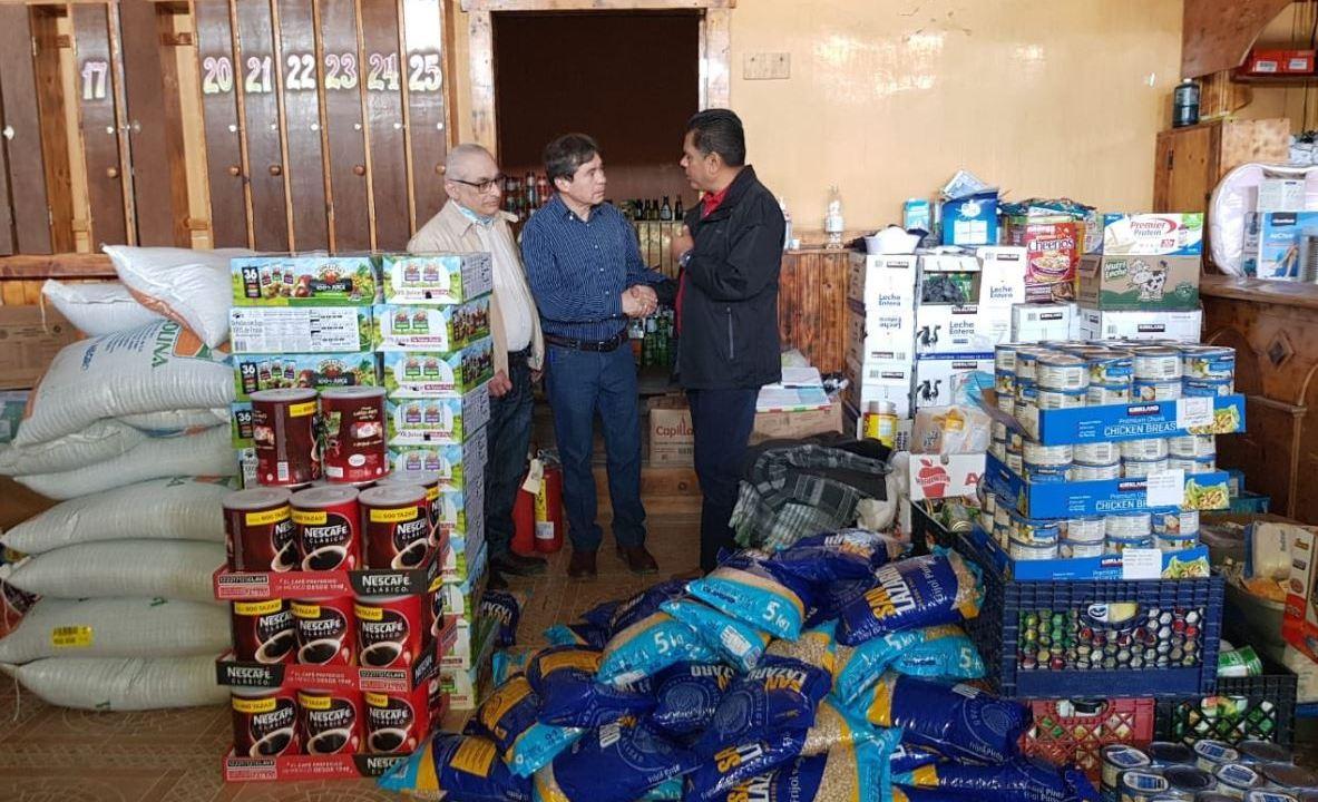 Honduras entrega ayuda humanitaria a migrantes en Tijuana