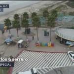 Migrantes intentan cruzar a EU en Tijuana