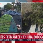 Migrantes se rehúsan a retirarse de calles de Tijuana