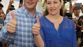 Congreso de Puebla notifica ausencia definitiva de la gobernadora Erika Alonso . (Notimex)