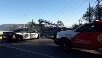 Se prevé que el fuerte viento continúe afectando a Monterrey