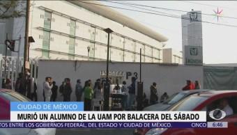 Muere estudiante de la UAM Xochimilco atacados a balazos