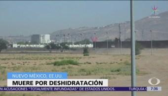 Muere niña migrante detenida en Estados Unidos por deshidratación