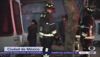 Mujer muere durante un incendio en Santa María la Ribera, CDMX