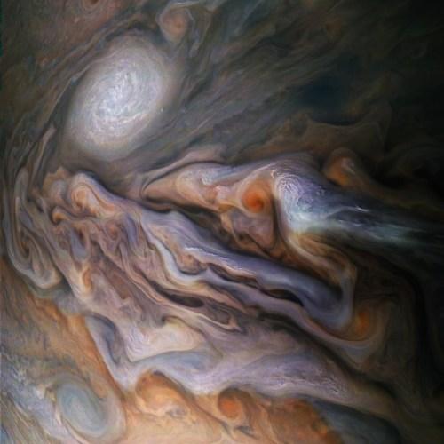 Las imagenes de Júpiter difundidas por la Nasa
