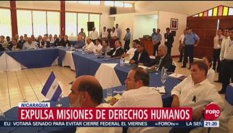 Nicaragua Expulsa Misiones Derechos Humanos Investigaban Violencia