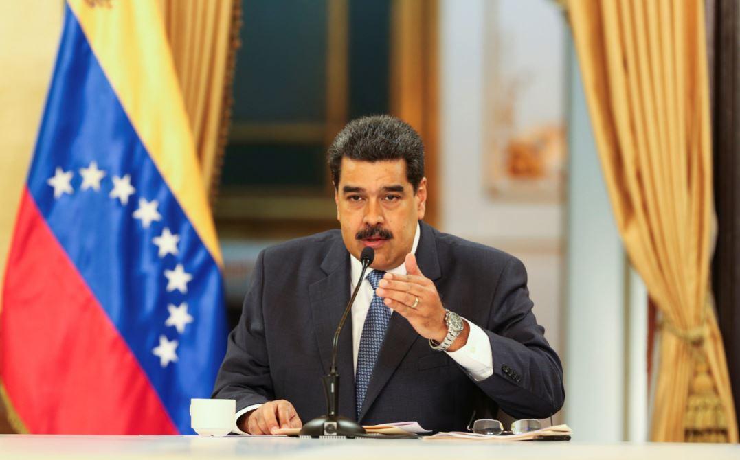 Nicolás Maduro arriba a México para asistir a comida con López Obrador