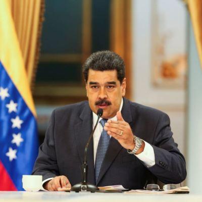 Nicolás Maduro llega a México para asistir a comida con López Obrador