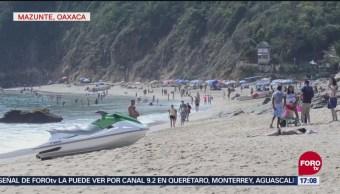 Playas De Mazunte Atrapan A Turistas
