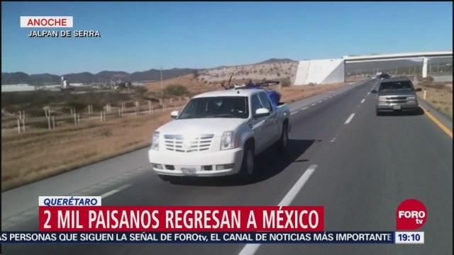 Paisanos Regresan México Fiestas Decembrinas EU