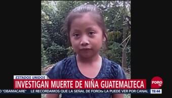 Muerte Niña Guatemalteca Sin Sentido Prevenible Casa Blanca