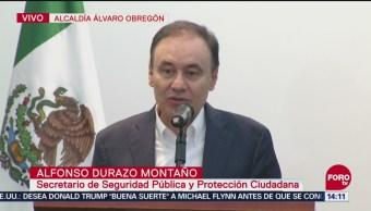 Durazo anuncian acuerdos en materia de seguridad