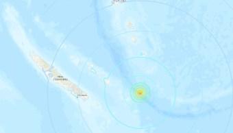 Nueva Caledonia registra nuevo sismo de 6.6 grados; levantan alerta de tsunami