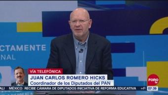 Nueva reforma educativa plantea eliminar la autonomía universitaria, dice Romero Hicks