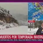 Nueve muertos por temporada invernal en Chihuahua