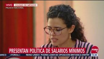 Nuevo salario mínimo será una recuperación progresiva para México