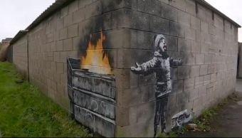 Banksy confirma autoría de grafitti en Port Talbot, Gales