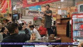 Ópera en mercados públicos de la Ciudad de México