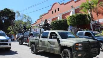 Robo combustible; fuerzas federales vigilan ductos refineria