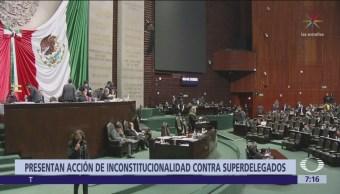 Oposición impugna ley que creó a los superdelegados