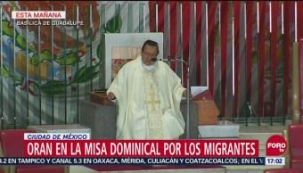 Oran Misa Dominical Migrantes Basílica De Guadalupe
