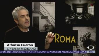 Paola Rojas entrevista al cineasta Alfonso Cuarón