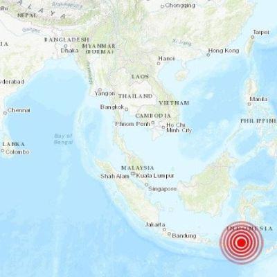 Sismo de magnitud 6.1 sacude isla de Papúa, en Indonesia