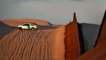 Niña herida al caer de cerca fronteriza entre México y EU