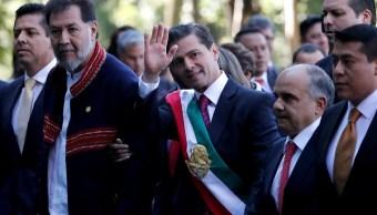 EPN dice que se va 'satisfecho' con su labor como presidente