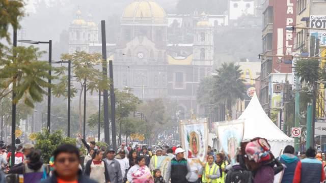 Peregrinos llegan a Basílica de Guadalupe, suman 4 millones