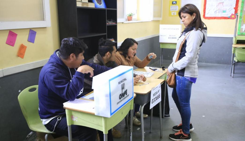 Inicia referéndum sobre reforma política y judicial en Perú