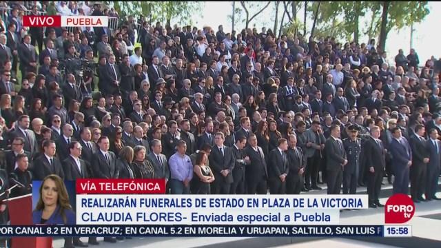 Políticos Congregan Funeral Erika Alonso Moreno Valle