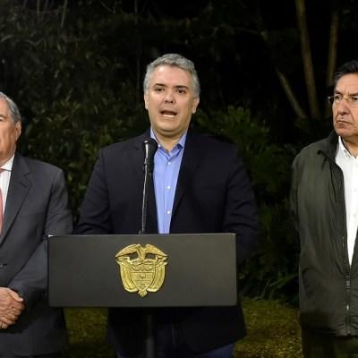 Descubren plan para atentar contra Iván Duque, el presidente de Colombia
