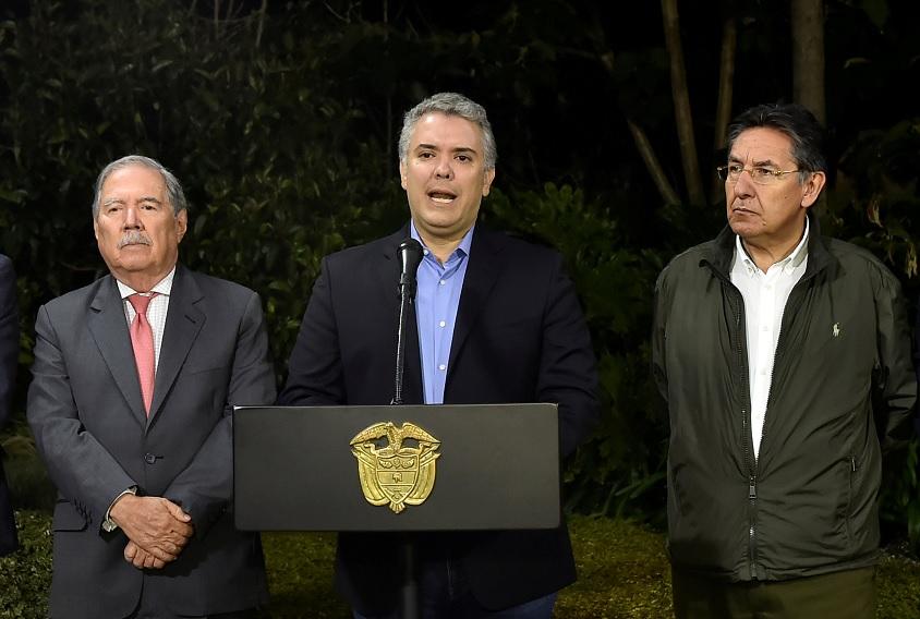 Colombia: Descubren plan para atentar contra Iván Duque