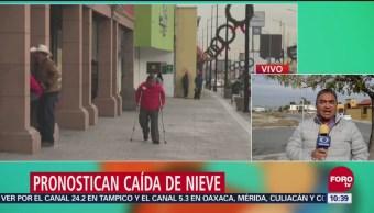 Pronostican bajas temperaturas en México por nuevo frente frío