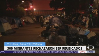 300 migrantes rechazan reubicación en 'El Barretal'