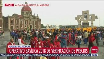 Puestos de emergencia y servicios médicos, listos en la Basílica de Guadalupe