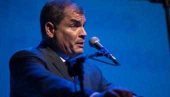 Ecuador: Interpol rechaza arrestar a Rafael Correa
